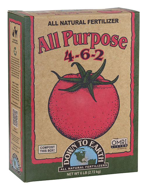 Down to Earth All Purpose 4-6-2