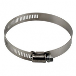Ideal-Air Stainless Steel Hose Clamp 2/pack 4in