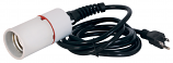 Mogul Base Power Cord for CFL 120V 8FT